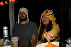 Alex and Ana on Halloween 2012