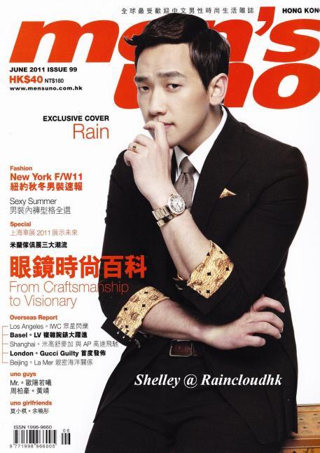 [02/06/2011] POrtada de la revista Men's One Hong Kong Junio 2011 111