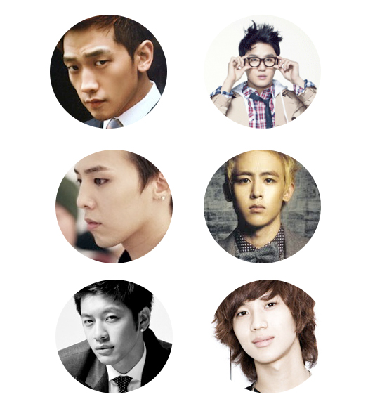 poll] Rain in Round 3 of the Seoulbeats Ideal Type World Cup