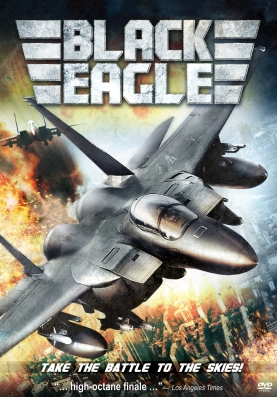 North American DVD box art for BLACK EAGLE credited to CJ Entertainment America.