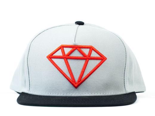 diamond-supply-co-rock-logo-snapback-cap