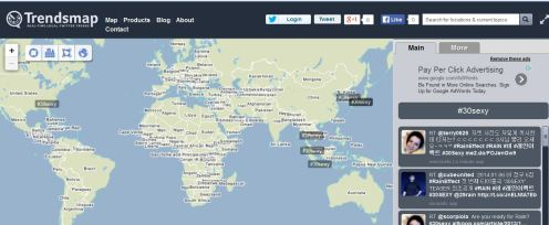 30sexy Trendmap Worldwide