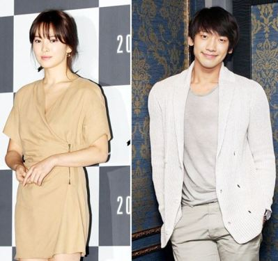 Song Hye-kyo and Jung Ji-hoon