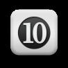 124329-matte-white-square-icon-alphanumeric-n10-solid